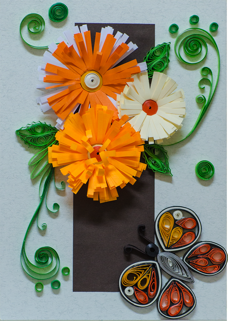 Quilling Card Butterfly