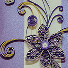 Quilling Card Flower
