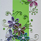 Quilling Mystic Flowers