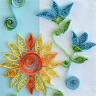 Quilling Sun Card