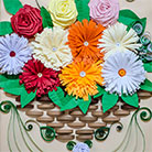 Quilling Womens's Day Greeting